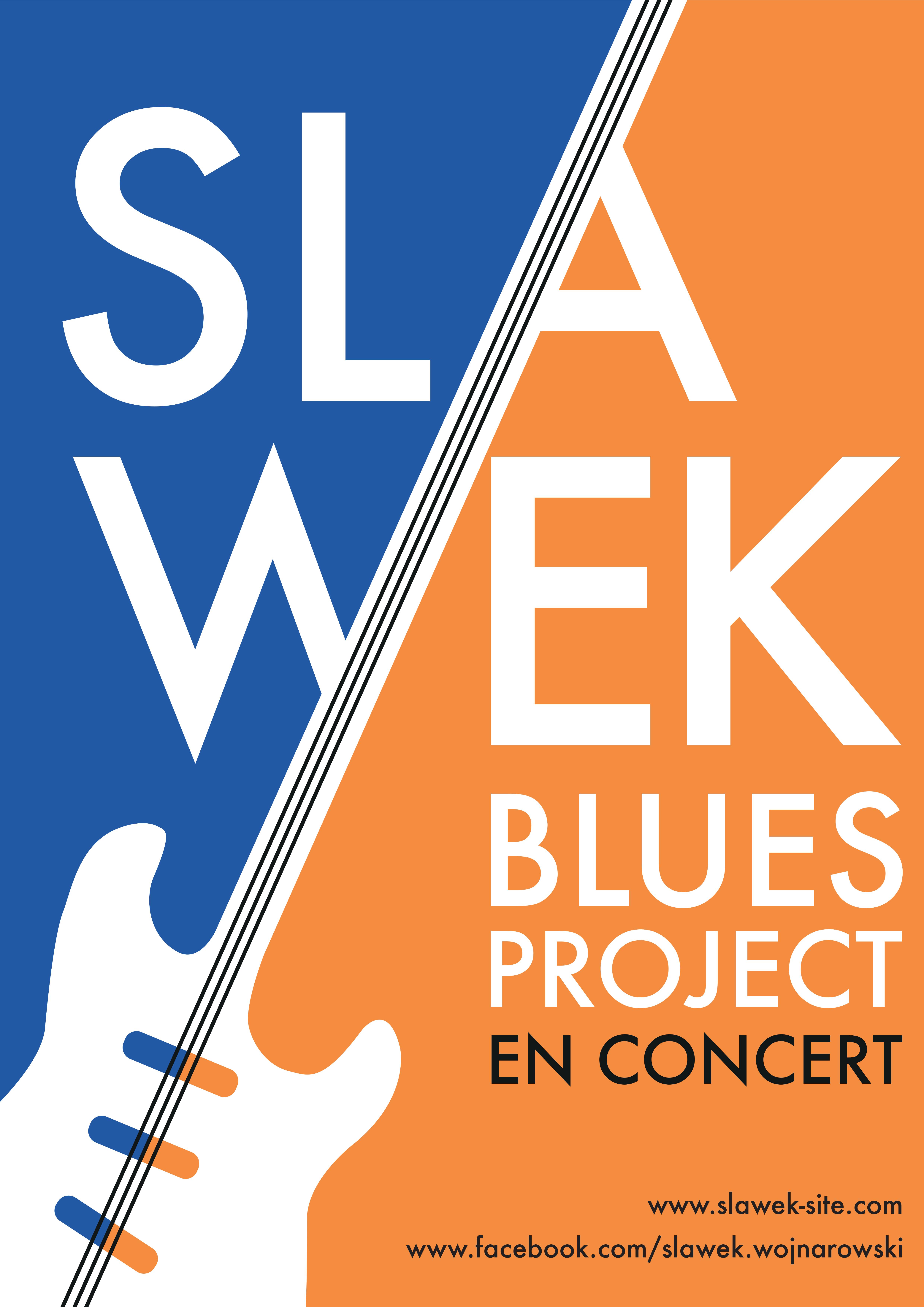 Affiche Slawek blues project